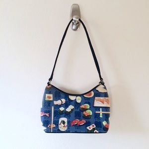 Sushi Japanese Cloth Purse Shoulder Bag Kawaii